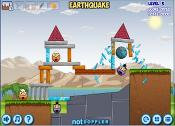 Disaster Will Strike (flash игра)