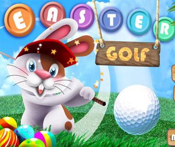 Гольф с кроликом (flash игра)
