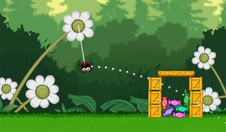 Gluttonous Spider (flash игра)