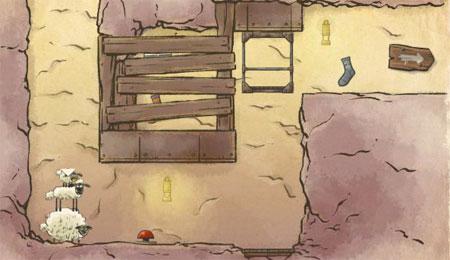 Home Sheep Home 2 - Lost Underground (flash игра)