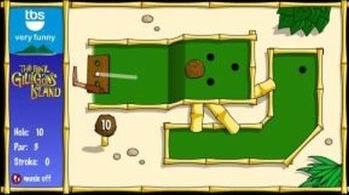 Island Mini Golf (flash игра)