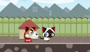 Run, Kitty, run (flash игра)