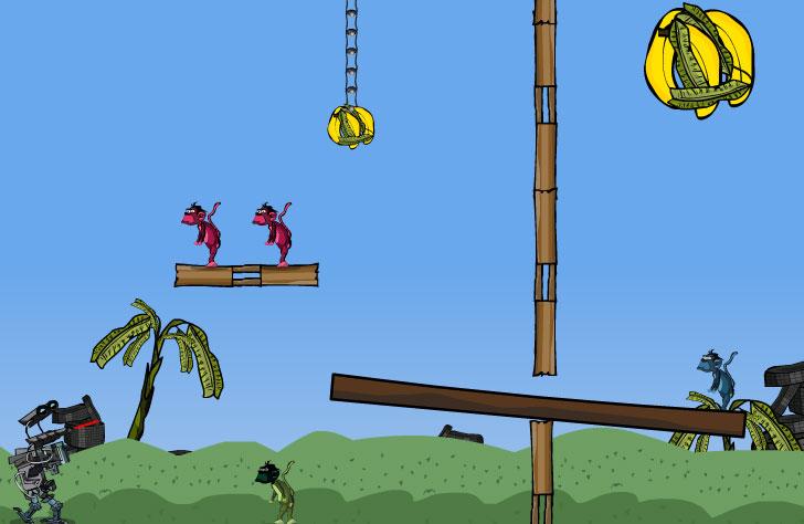 Shoot The Monkey (flash игра)