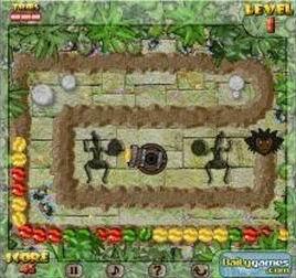 Tropical Jungle Rumble (flash игра)