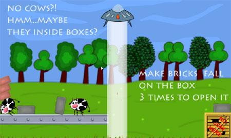 UFO Like Cows (flash игра)