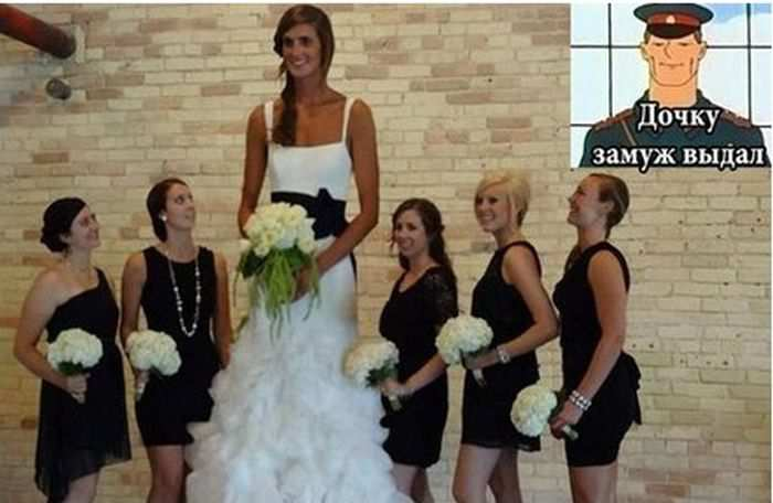 Дочку замуж выдал