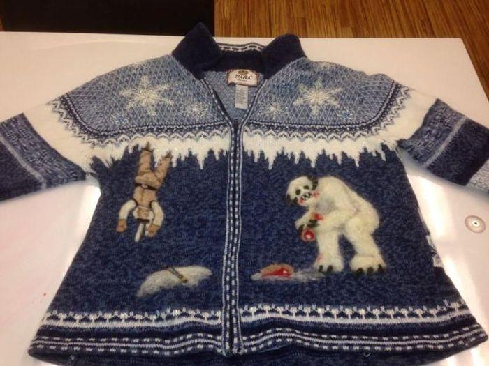 Весёлый свитер