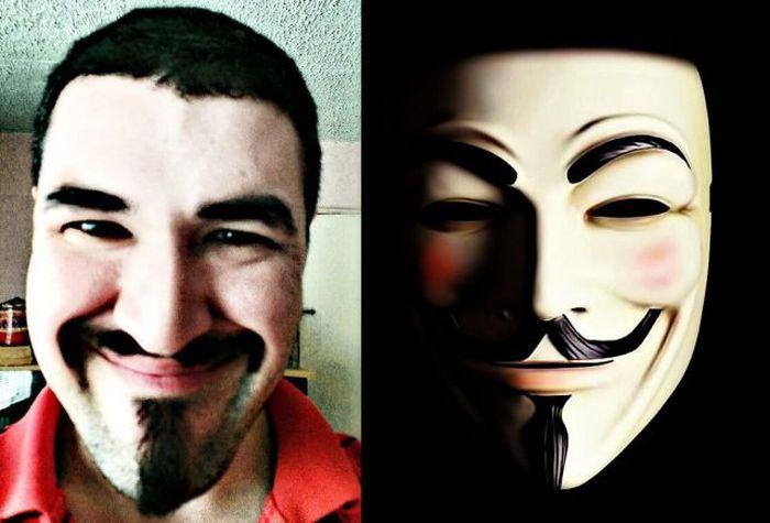 Маска Анонима. V — значит вендетта