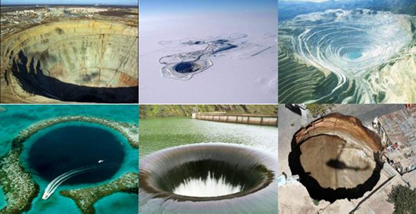 7 самых больших дыр на Земле