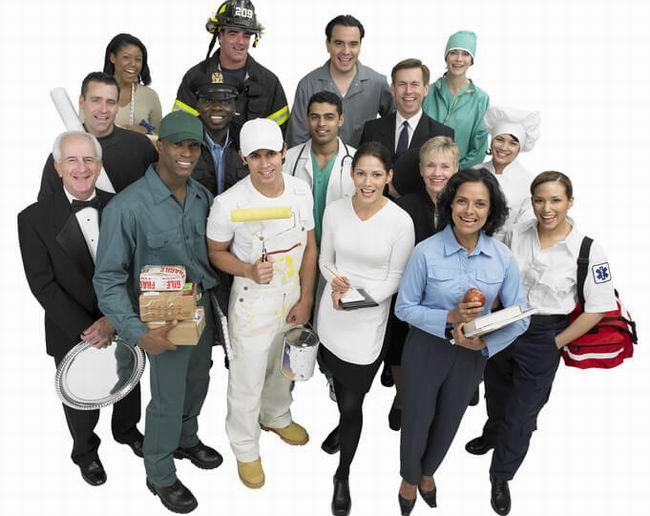 Какие существуют профессии? - Список из реального классификатора специальностей