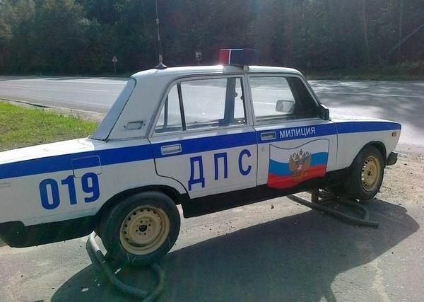 Новинка российского автопрома: машина для пробок