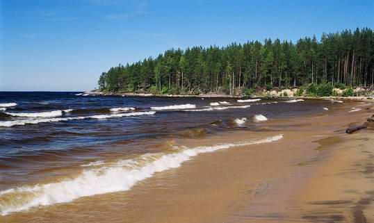 Однажды окрестности Онежского озера Ольга Онуфрий