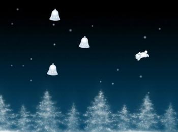 Прыгающий зайчик. Новогоднее. (flash игра)