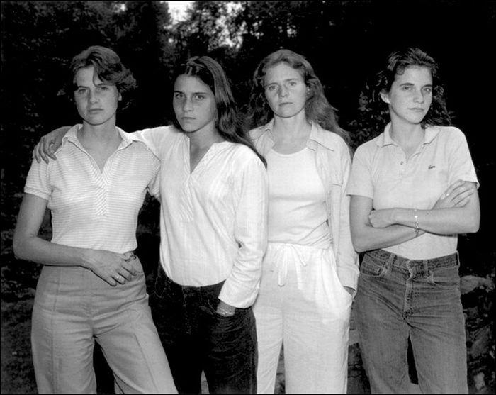 Четыре сестры (35 фотографий)