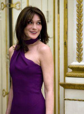 Бывшая первая леди Франции Карла Бруни-Саркози (Carla Bruni)