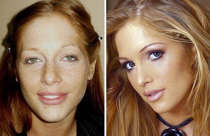 Чудеса макияжа (29 фотографий)