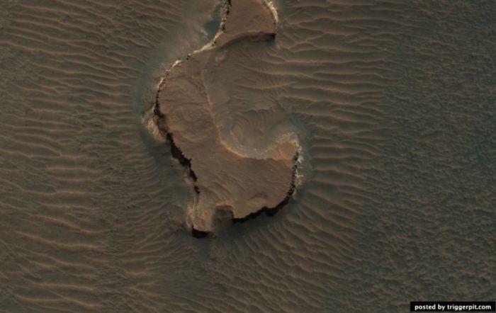 Экскурсия на Марс (43 фотографии)