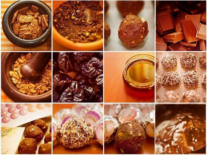 Когда я ем шоколад