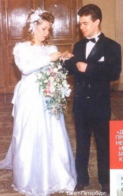 Свадебные фото политиков