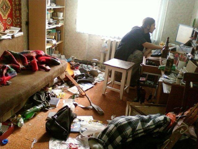 Холостяцкие квартиры (31 фотография)