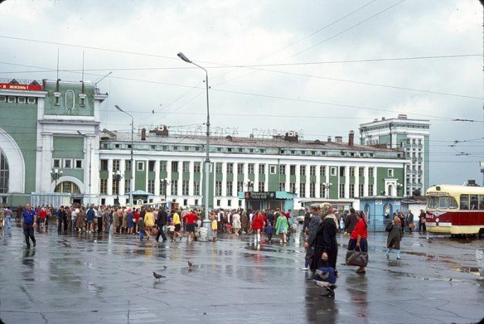 СССР глазами фотографа из Франции (33 фотографии)