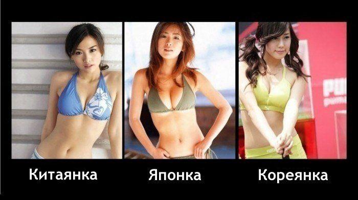 Как отличить японскую девушку (2 фотографии)