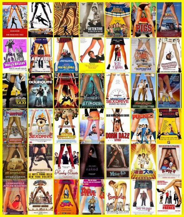 Одинаковые киноплакаты (13 картинок)