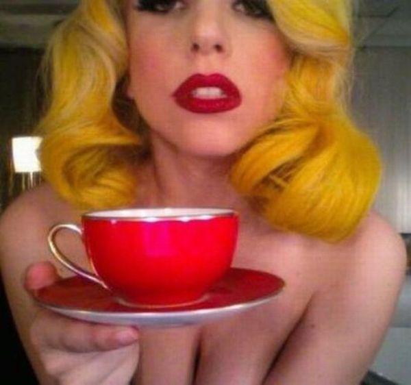 Молодая Lady Gaga (100 фотографий)