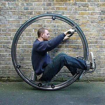 Моноцикл от Бена Вилсона (5 фото)