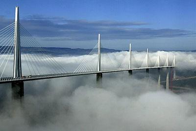Чудо архитектуры: мост Le Viaduc de Millau