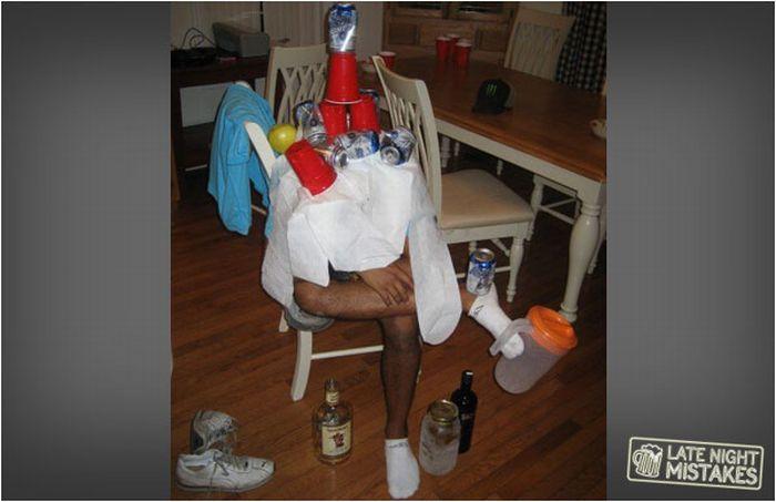 Приколы над пьяными друзьями