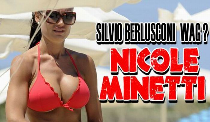 Николь Минетти - бывший дантист Сильвио Берлускони (14 фотографий)