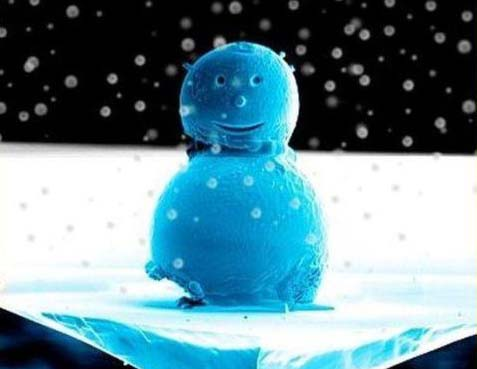 Нано-снеговик