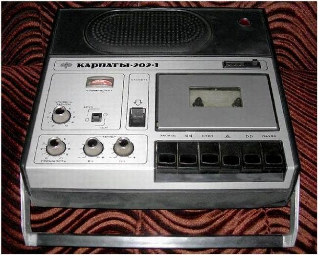 Аппаратура реальных пацанов 80-х