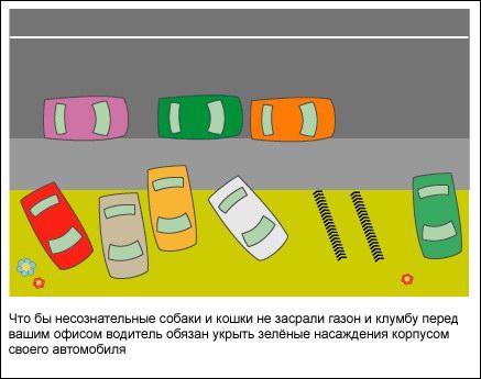 Правила дорожного движения в Москве