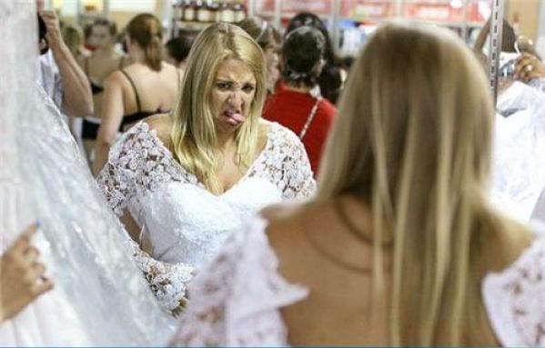 Прикольные свадебные фотографии (68 фотографий)