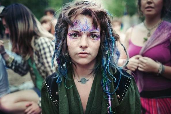 Rainbow Gathering (52 фотографии)