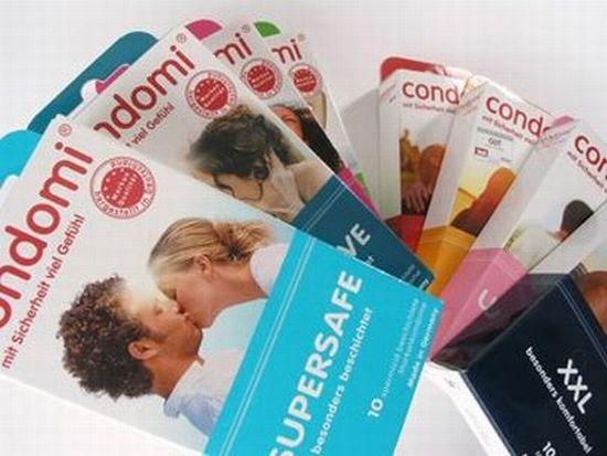 Презервативы под известными торговыми марками