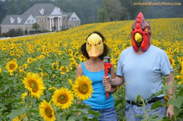 Смешные и странные семейные фотографии (40 фотографий)