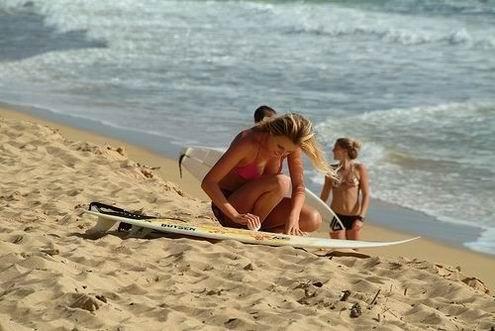 Самая горячая серфенгистка в мире Alana Blanchard