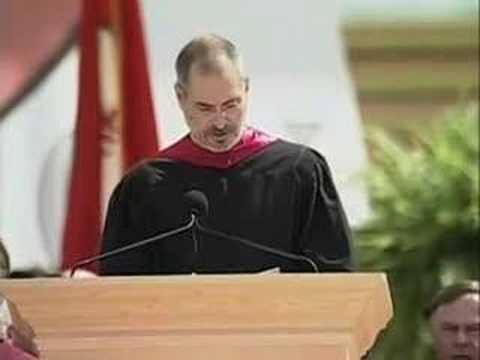 Удивительная, поразительная речь главы Apple - Стива Джобса перед выпускниками Cтэнфорда в 2005 году