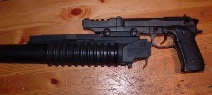 оружие,пистолет,Genius,песочница.