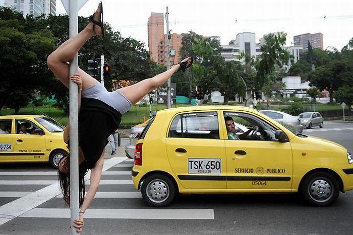 Танцы на дорожных знаках