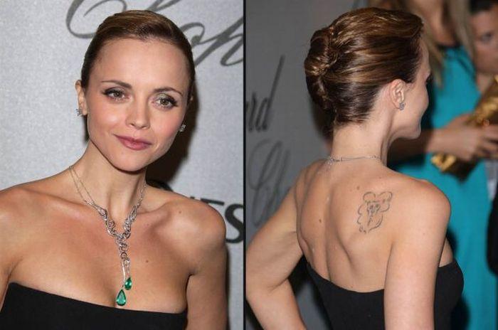 Татуировки звезд (часть вторая, 56 фотографий)