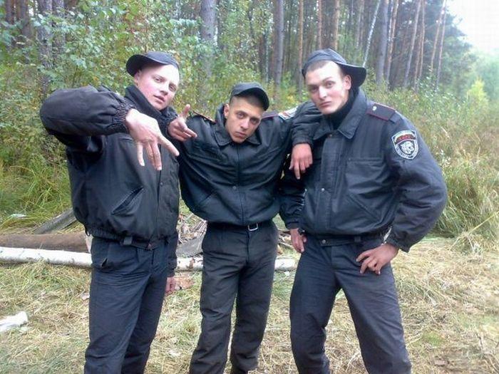 Суровые парни украинской милиции (34 фотографии)