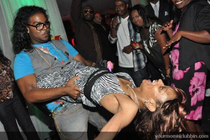 Women in night clubs