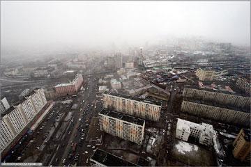 Высота. Москва сверху вниз