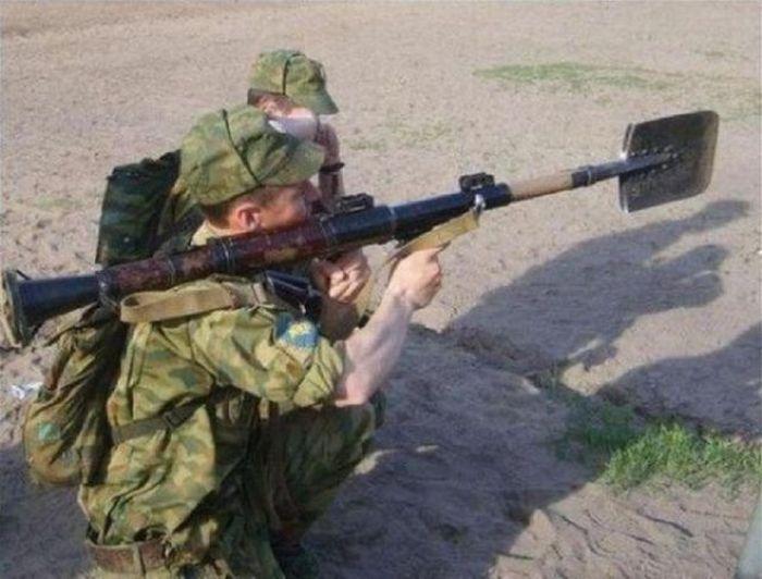 Военный юмор