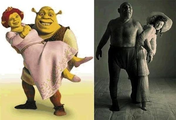 Вымышленные персонажи, имевшие реальных прототипов (7 фотографий)