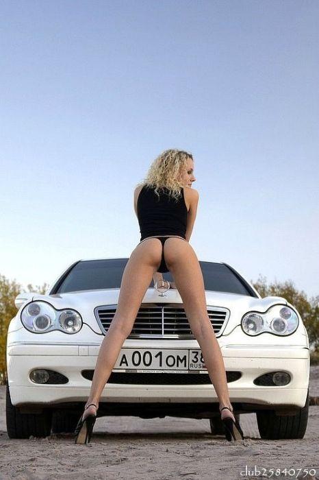 Наши девушки и их автомобили